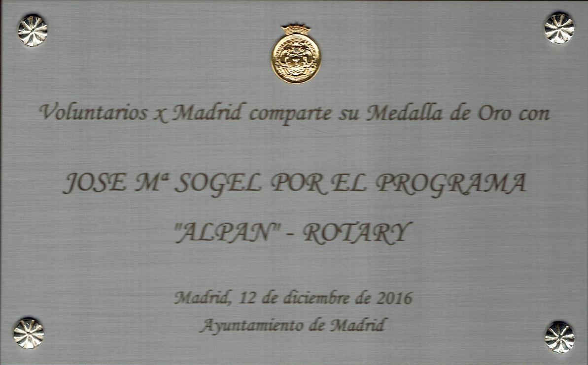 ALPAN: Alimentos Para Necesitados - Rotary Club Madrid